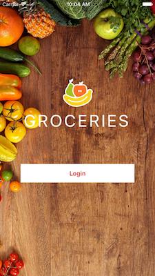 NativeScript Groceries Sample   Kinvey