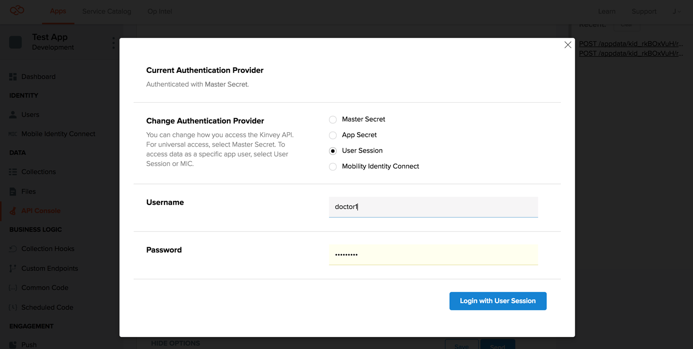 Using Access Controls to secure collections REST API